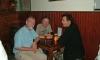 P1011 kleine Ankunftsfeier in Santiago mit Martin und Martin