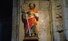 P1123 Jakobus-Figur in Santa Maria des Areas in Fisterre