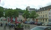 P0224 Marktplatz mit Burg in Neuerburg
