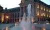P0360 Dijon, Place de la Liberation am Abend