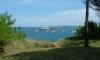 P0716 kleine Insel mit Leuchtturm vor Santander
