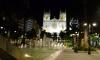 P0819 Gijon, Kathedrale am Abend
