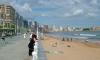 P0823 Gijon, am Strand