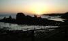 P0845 Sonnenaufgang bei der Pilgerherberge Tapia