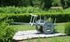 P0929 alter Bauernwagen mit primitivem Rad