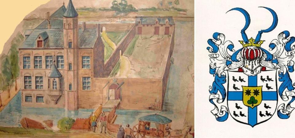 Stammsitz und Wappen der Familie