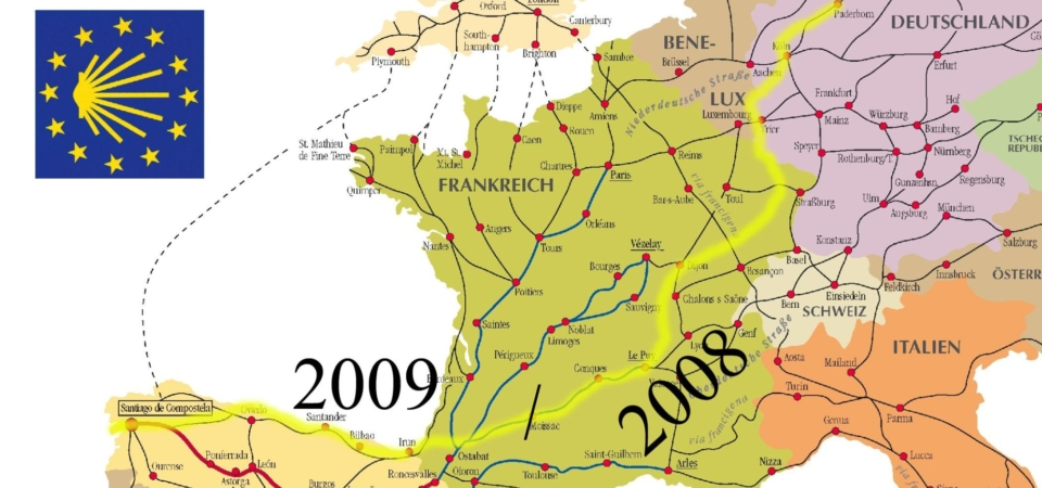 Pilgerweg Paderborn nach Santiago